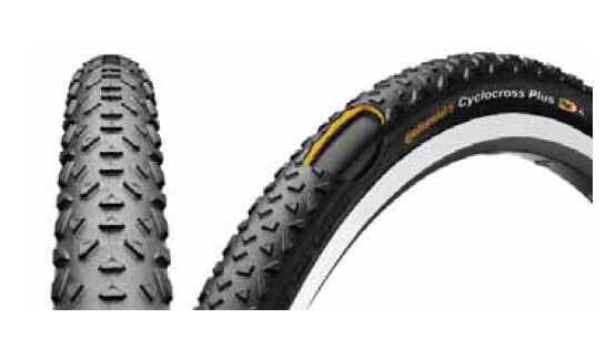 CONTINENTAL Cyclocross Plus Reflex pneus Tringle Souple